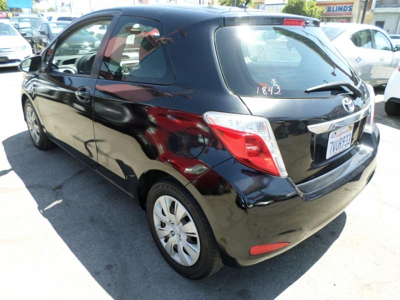 Toyota Yaris 2013 price $8,450