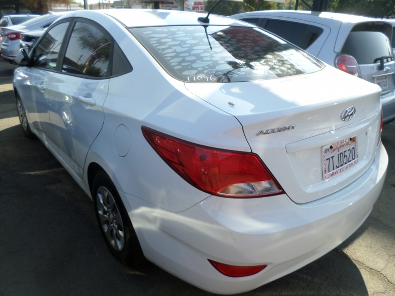 Hyundai Accent 2016 price $10,450