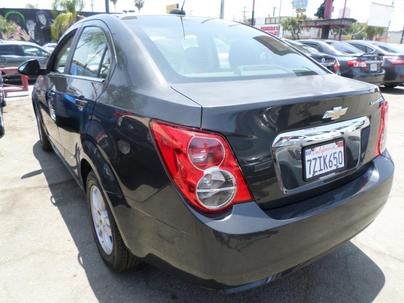 Chevrolet Sonic 2015 price $8,450
