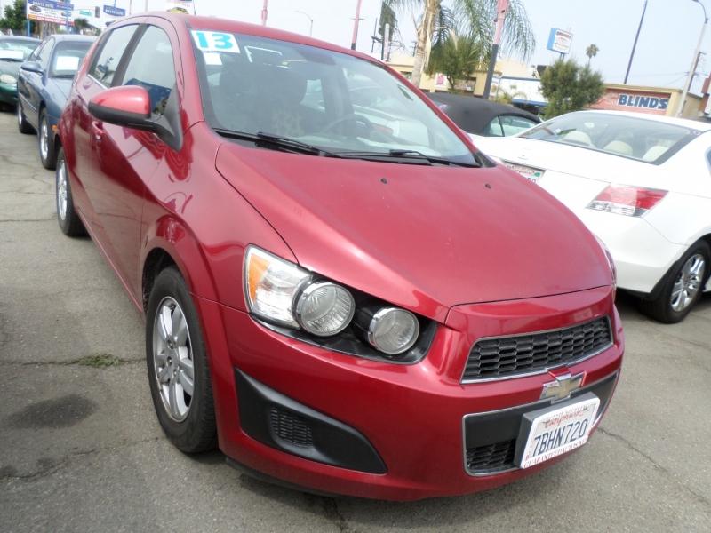 Chevrolet Sonic 2013 price $8,450