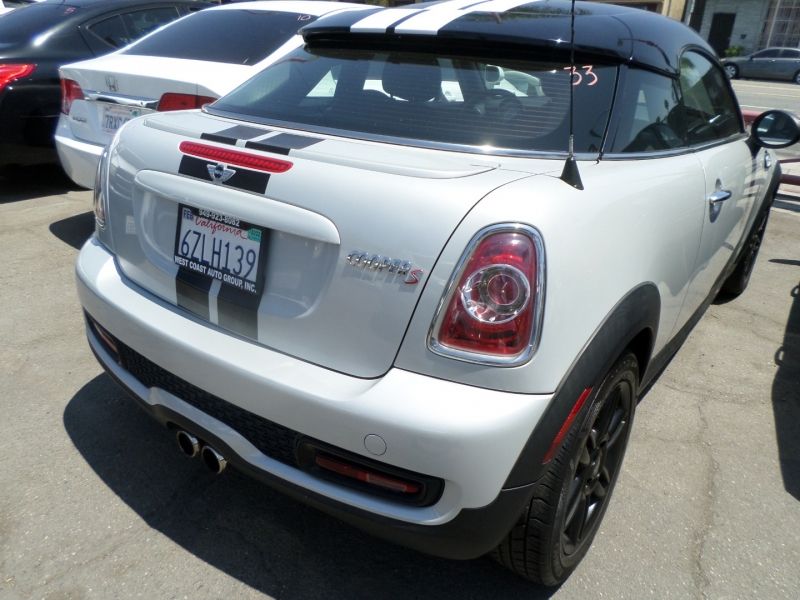 Mini Cooper Coupe 2013 price $9,450