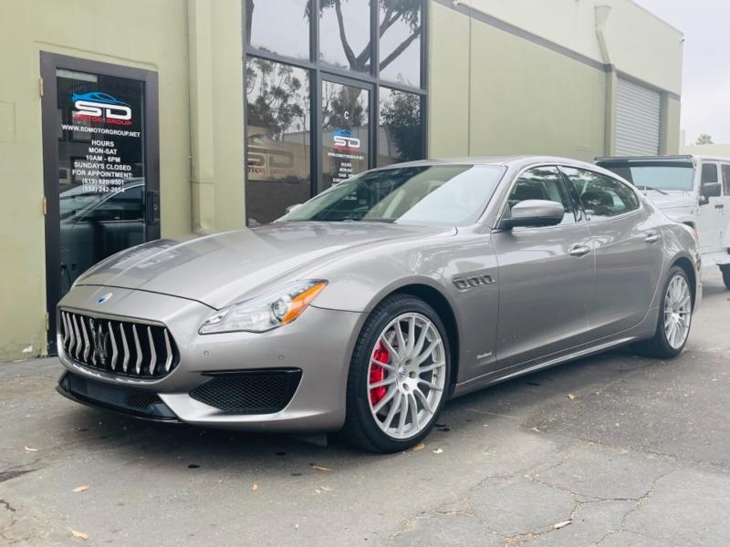 Maserati Quattroporte 2017 price $61,995