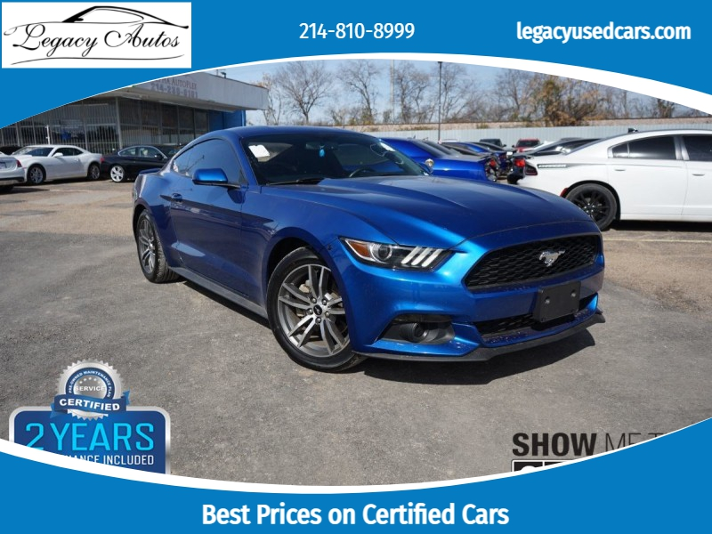 Ford Mustang 2017 price $22,495