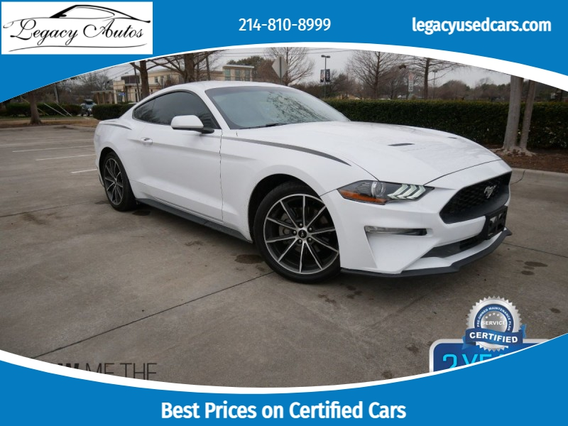 Ford Mustang 2018 price $21,995