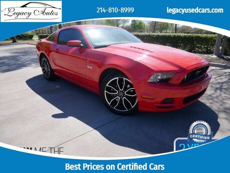 Ford Mustang 2014 price $21,495