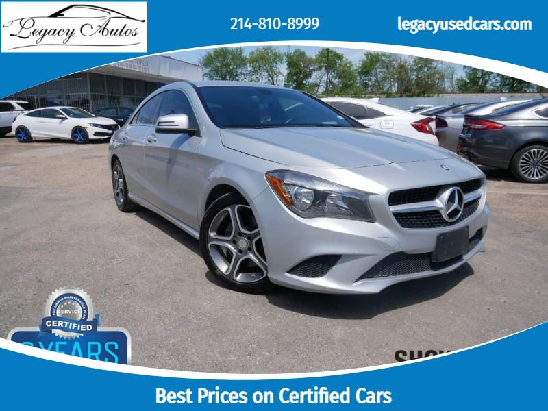 Mercedes-Benz CLA 250 2014 price $16,495