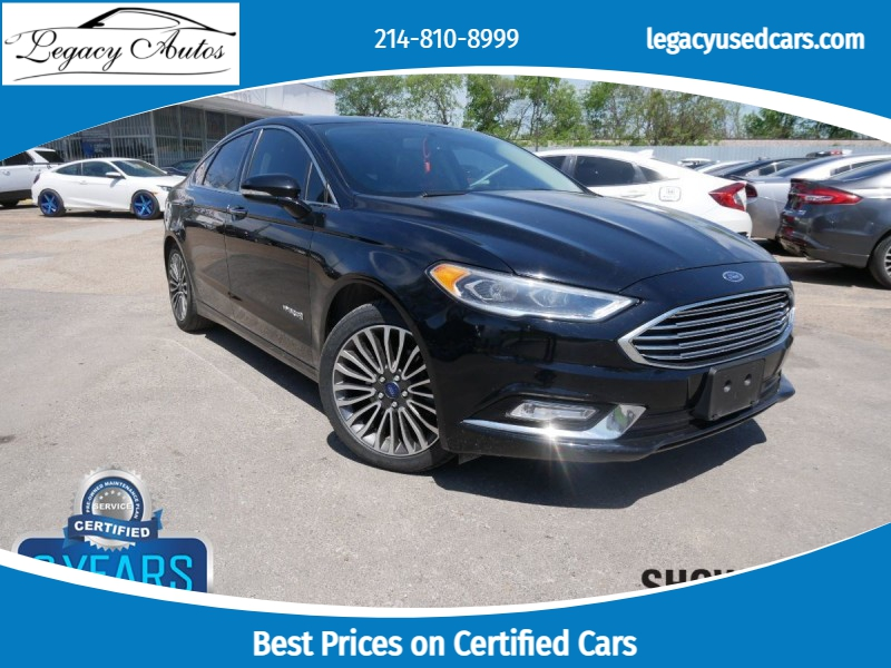 Ford Fusion Hybrid 2018 price $17,995