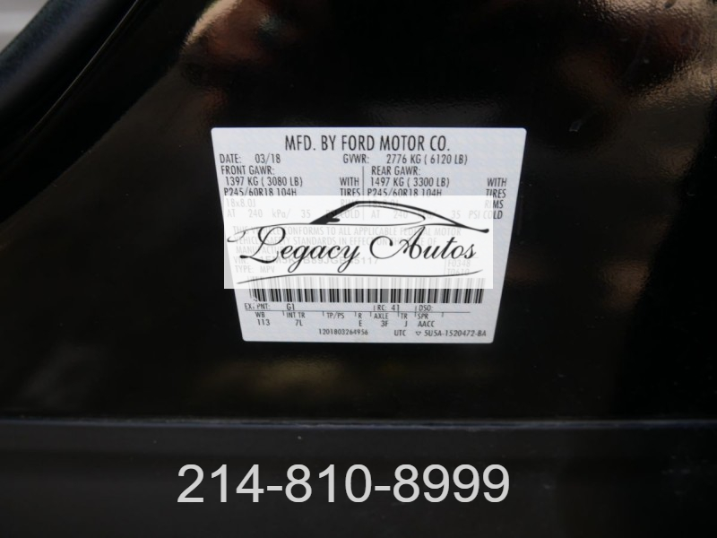 Ford Explorer 2018 price $22,995