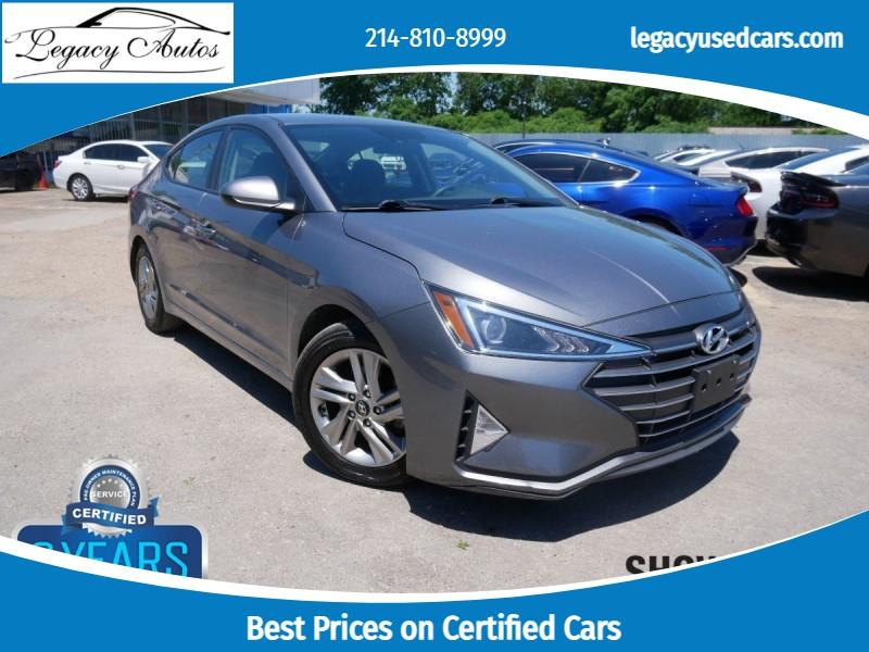 Hyundai Elantra 2019 price $16,995