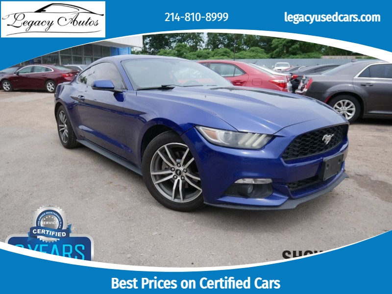 Ford Mustang 2015 price $20,495