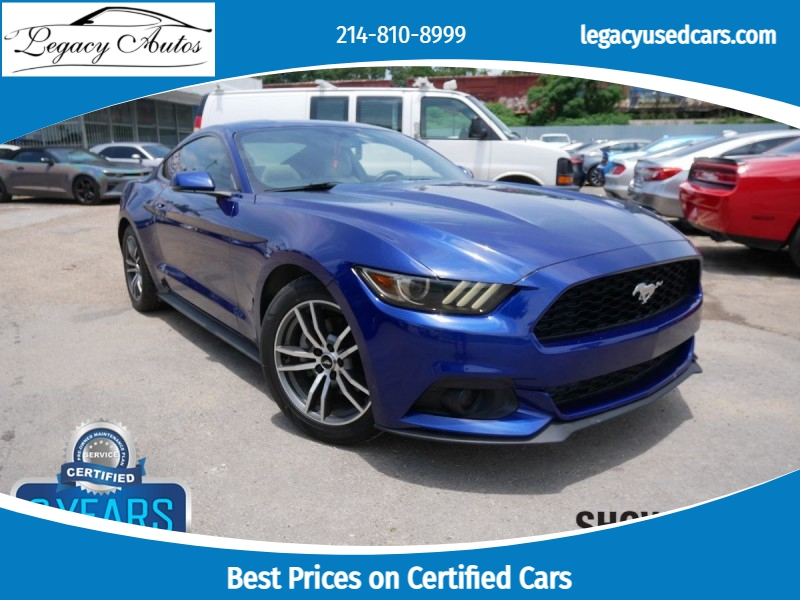 Ford Mustang 2015 price $23,495