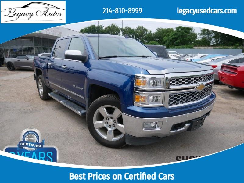 Chevrolet Silverado 1500 2015 price $37,500