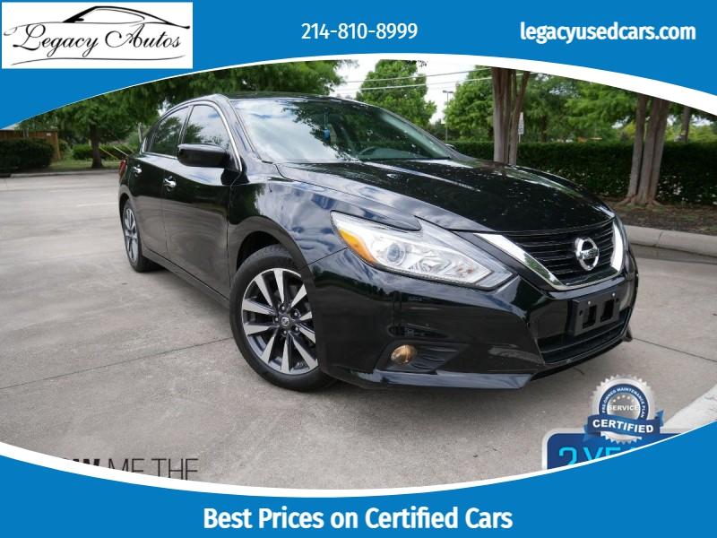 Nissan Altima 2017 price $18,495