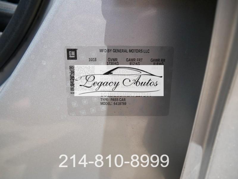 Chevrolet Cruze 2019 price $22,495
