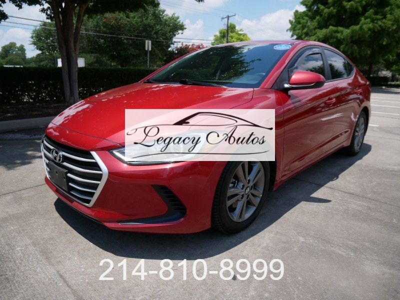 Hyundai Elantra 2018 price $18,995