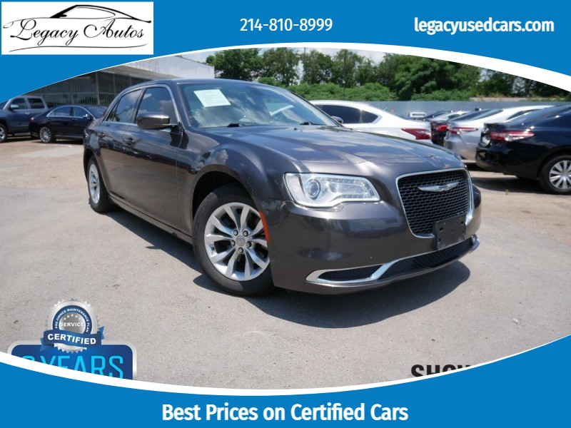 Chrysler 300 2015 price $18,495