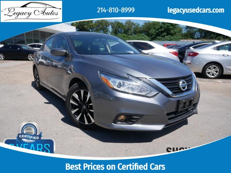 Nissan Altima 2018 price $19,495
