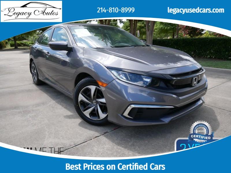 Honda Civic Sedan 2019 price $19,495
