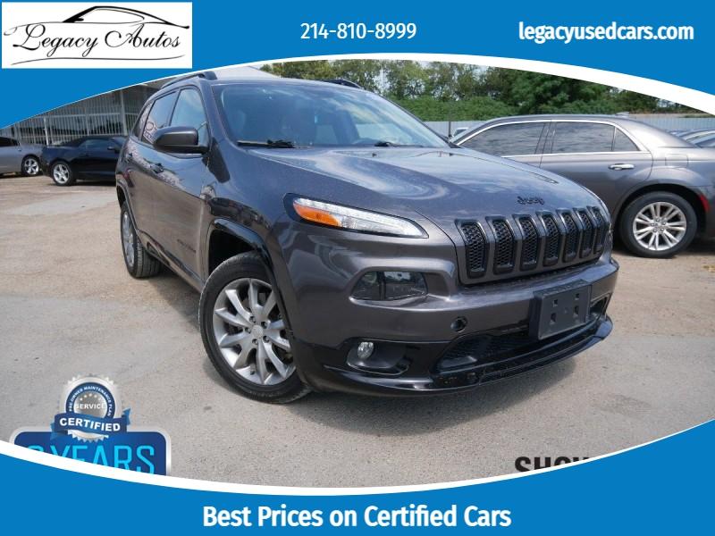 Jeep Cherokee 2018 price $22,495