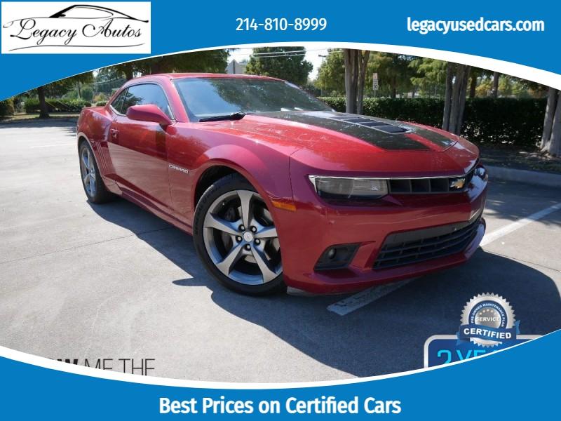 Chevrolet Camaro 2014 price $26,495