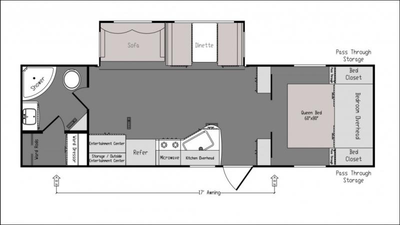 Riverside Intrepid 279RBC 2020 price $29,785