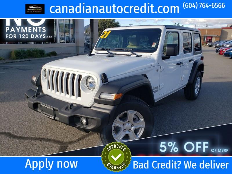 Jeep Wrangler Unlimited 2021 price $48,380