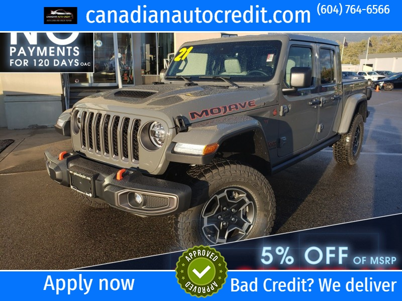 Jeep Gladiator 2021 price $72,455