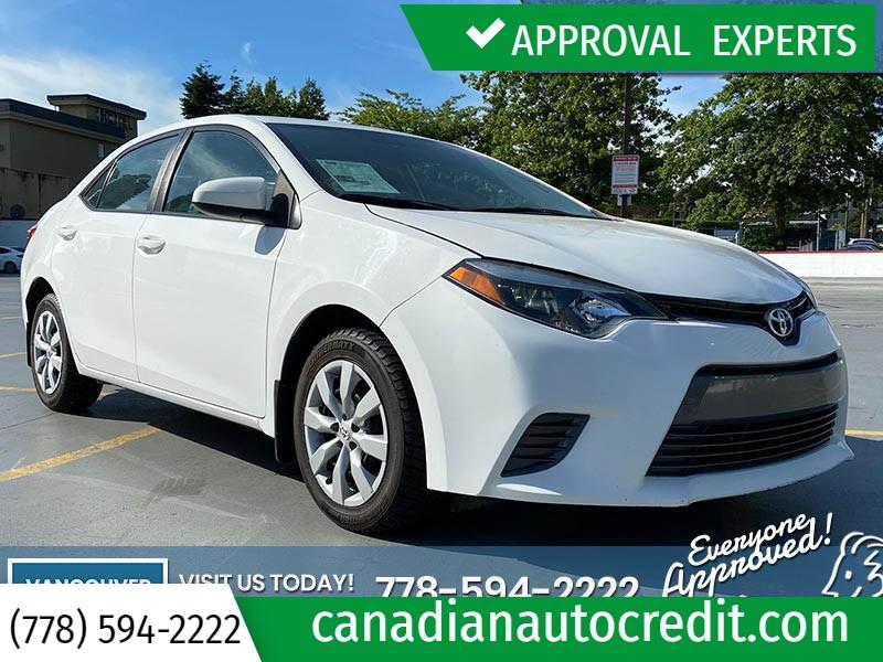 Toyota Corolla 2015 price $16,988