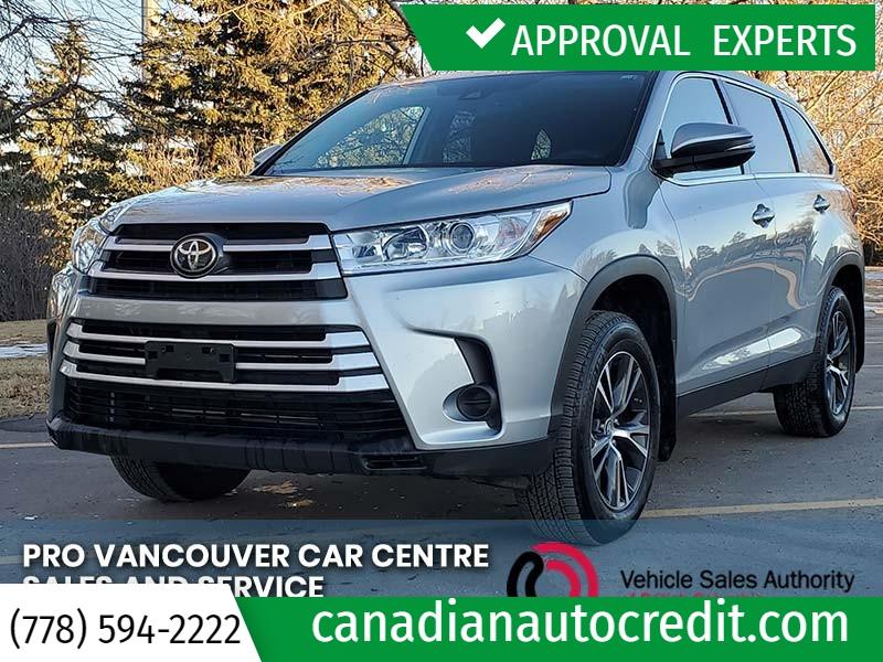 Toyota Highlander 2019 price $36,988