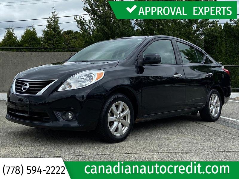 Nissan Versa 2014 price $9,988