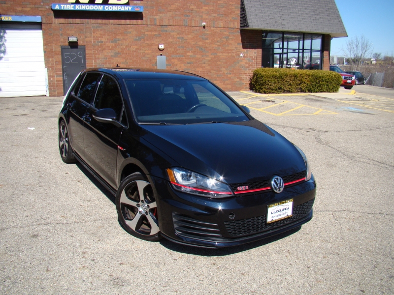 Volkswagen Golf GTI 2015 price $14,995