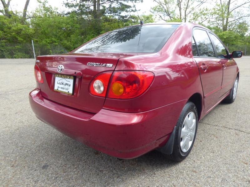 Toyota Corolla 2003 price $4,974