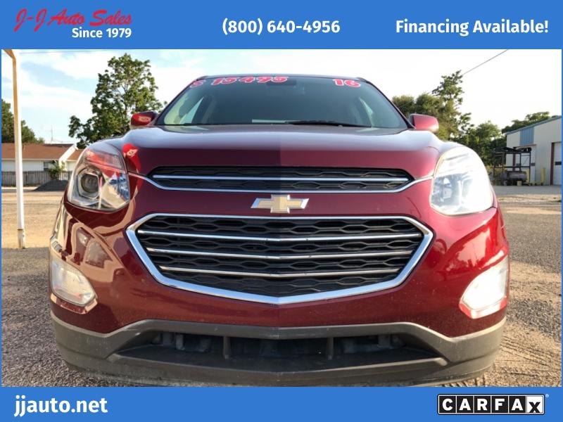 Chevrolet Equinox 2016 price $15,495