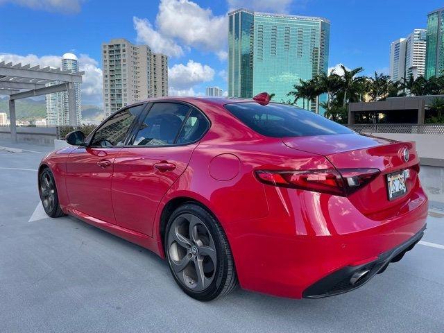 Alfa Romeo Giulia 2018 price Call for Pricing.