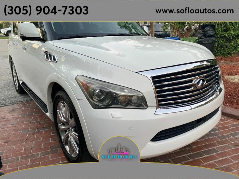 INFINITI QX56 2012 price $21,900