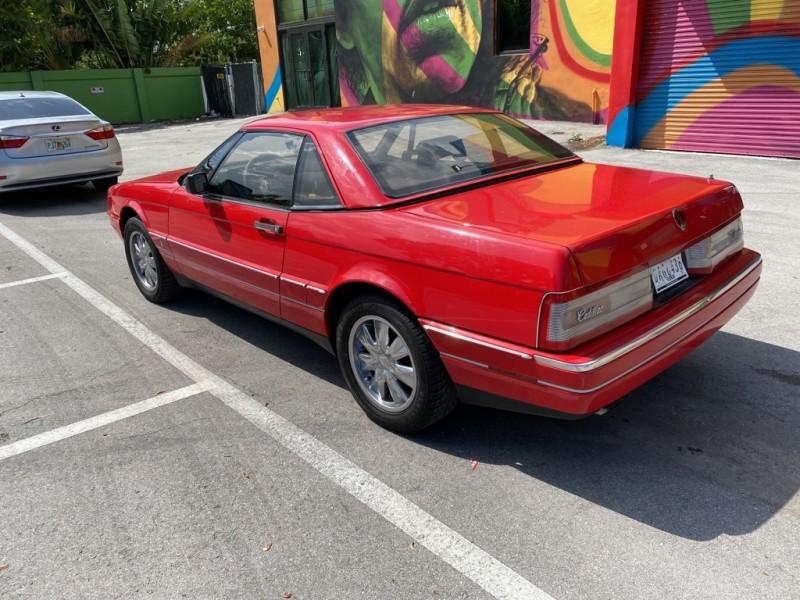 CADILLAC ALLANTE 1988 price $7,490