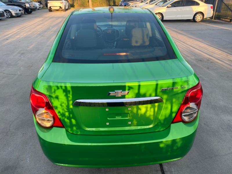 Chevrolet Sonic 2015 price $7,500