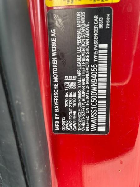 Mini Cooper Paceman 2013 price $13,550