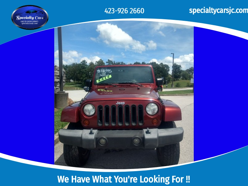 JEEP WRANGLER UNLIMI 2009 price $15,995