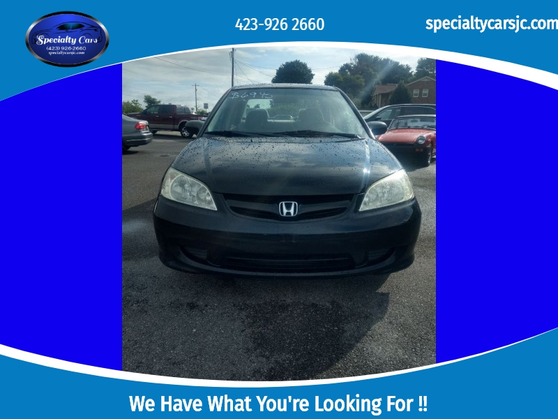 HONDA CIVIC 2005 price $3,995