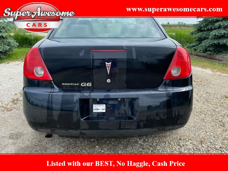 PONTIAC G6 2008 price $1,000