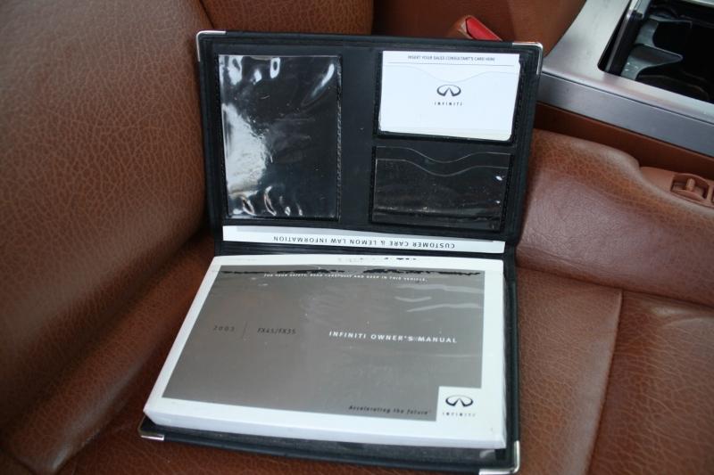 Infiniti FX45 2003 price $7,998