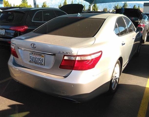 Lexus LS 460 2007 price $9,750