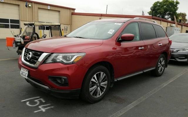 Nissan Pathfinder 2017 price $17,950