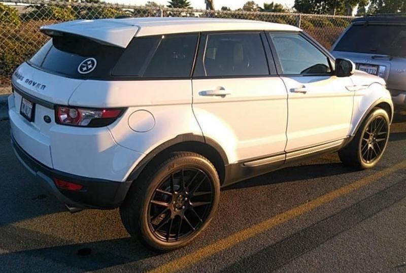 Land Rover Range Rover Evoque 2013 price $11,750