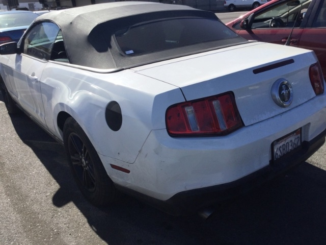 Ford Mustang 2012 price $7,750