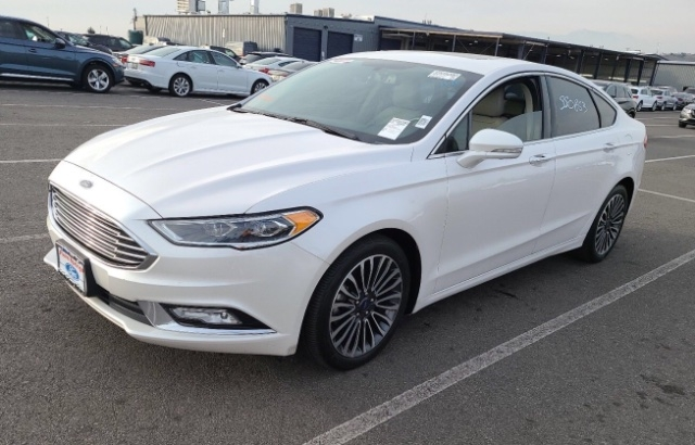 Ford Fusion 2017 price $8,750