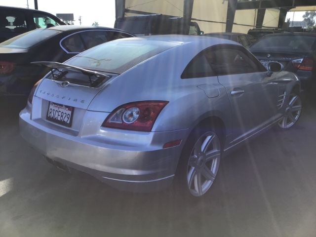 Chrysler Crossfire 2008 price $4,950