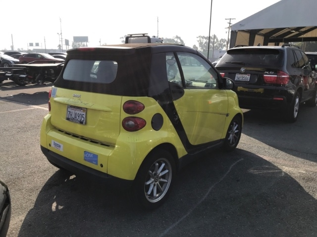 Smart Fortwo 2008 price $4,250