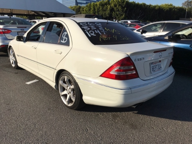Mercedes-Benz C-Class 2007 price $3,450